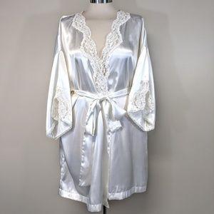 Victoria's Secret Sequin Embroidered Robe